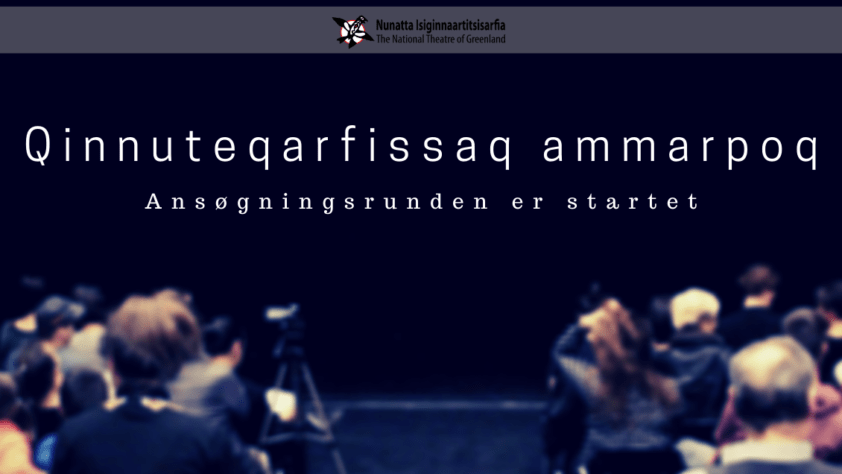Ansøgning til skuespillerskolen er åben til den 10.december
